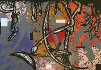 Flavio Garciandia #2802. Untitled, 1988. Serigraph, edition 37/110.  20 x 27.5 inches.