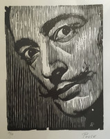 Armando Posse #4116. Untitled, N.D. Woodcut print. 23 x 16 inches.