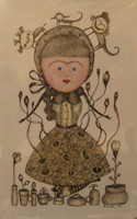 "Elsa Mora, Untitled, 2008, 8"" x 5"""