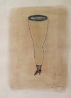 "Elsa Mora, Untitled, 2002, 11"" x 8.5"", #2945"