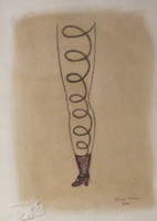 "Elsa Mora, Untitled, 2002, 11"" x 8.5"", #2942"
