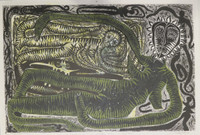 "Carlos Del Toro #3475. ""Variaciones para una hipotetica danza-asombrada,"" 2003. Lithograph print edition 1 of 6 31 x 41.5 inches."