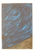 """Gorria (Jorge Perugorría Rodríguez) #4131. """"De la serie: Los Caminos,"""" N.D. Serigraph print edition 29 of 60. 27.5 x 19.75 inches."""