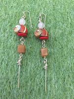 Osvaldo Castilla #421A.  Polymita shell Earrings