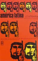 """Antonio Pérez (OSPAAAL) """"America Latina,"""" 1968. Offset"""