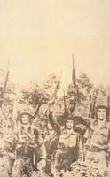"Rostgaard (Alfrédo Gonzalez Rostgaard) (OSPAAAL)  ""Many Che's,"" 1970"