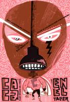 """Nelson Ponce, """"Casa en el Taller,""""  2012. Silkscreen."""