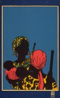 "Lázaro Abreu / Emory Douglas (OSPAAAL) ""Africa,"" 1968.  Not Available!"
