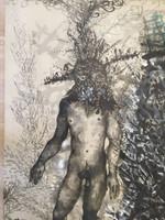 Zaida Del Rio #4200. Untitled, 2009. Giclee on canvas. 40 x 30 inches.