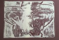 """Carballo (Oscar Carballo)  #277. """"Guajiro millonario,"""" 1978. Lithigraph print. 19 x 24 inches."""