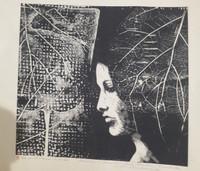 Carballo (Oscar Carballo)  #487. Untitled, 1978. Linoleum print edition 5 of 14. 14.5 x 16.5 inches.