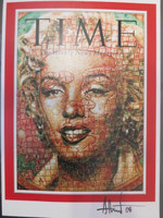 "Time {Marilyn}. Adrian Rumbaut, 2008. Digital Photograph. 11"" x 8""."