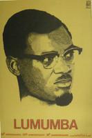 """Rafael Enriquez (OSPAAAL) """"Lumumba,""""1981. Offset"""
