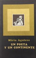 """Manolo T. Gonzalez (Cover) Mirta Aguirre (Author) """"Un poeta y un Continente,"""""""