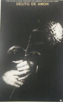 """Azcuy (René Azcuy Cardenas)   """"Delito de amor,"""" 1977. Silkscreen."""