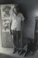 Mayito (Mario García Joya) #149. NFS> Untitled, Trinidad 1970.  8.75 x 13 inches.