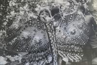 """Abigail Garcia Fayat #245. """"Remedios,la bella,de la familia Buendia,"""" 1982. 9.75 x 13.25 inches.  Signed and dated"""
