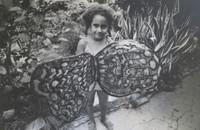 "Abigail Garcia Fayat #243. NFS> ""Remedios,la bella,de la familia Buendia,"" 1982. 9.75 x 13.25 inches.  Signed and dated."