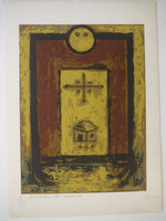 "Alazo  1996C. ""Protector del universo,"" N.D. Print edition 8 of 10. 20.5 14.5 inches."