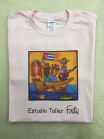Cotton Fuster tee Shirt size large #423C