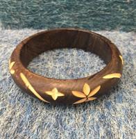 Cut wood Bracelet #361K