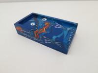 Hand painted wooden match box container with striker. Made in Cuba at Taller  de Grabado y Artes del Libro, Casa Beatriz.  #073B