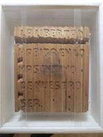 """William Perez, """"La Libertad"""", 2008.  Mixed media/wood and plexiglass, 18"""" x 15"""" x 4.5"""" (SL)"""
