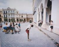 """Frank Stewart. """"Plaza Vieja,"""" 2006, Digital print, 50"""" x 60"""""""