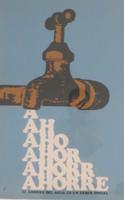 """Unsigned, """"El Ahorro del Agua es un Deber Social,"""" ND. Silk screen.  30"""" X 20."""""""