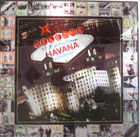 "Kadir Lopez, ""Welcome to Fabulous Havana #1."" 2015. Mixed media, 37"" square. SOLD!"