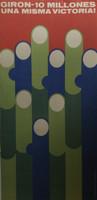 Artist Unknown (COR Del CC Cuba. Giron-10 millones una misma victoria, N.D. Offset print. 24 x 12 inches.