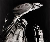 Liborio Noval Fidel Castro on November 27, 1960.  13 x 16 inches.     NFS