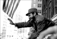 Roberto Salas,  A photo of Fidel Castro in New York in 1959