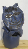 Jose Fuster #6515 (SL)  Untitled, N.D. Ceramic sculpture. 12 x 5.5 inches.