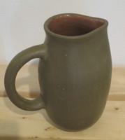 Azariel Santander #6554  Ceramic jug from Trinidad de Cuba. 7 x 6 inches