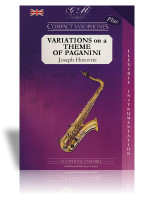 Variations on a Theme of Paganini (Sax Quartet)