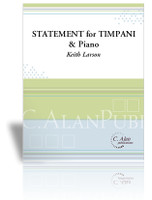 Statement for Timpani and Piano