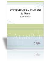Statement for Timpani and Piano