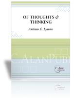 of thoughts and thinking