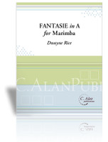 Fantasie in A for Marimba