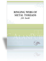 Ringing Webs of Metal Threads
