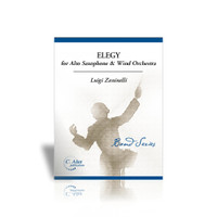 Elegy for Alto Saxophone & Wind Orchestra