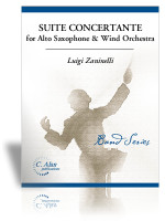 Suite Concertante for Alto Saxophone & Wind Orchestra