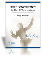 Suite Concertante for Flute & Wind Orchestra