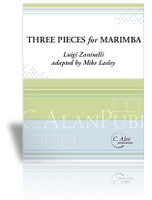 Three Pieces for Solo Marimba