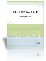 Quartet No. 1 in F