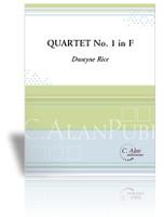 Quartet No. 1 in F