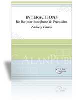 Interactions for Baritone Saxophone & Percussion