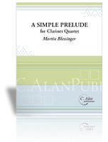 Simple Prelude, A (clarinet quartet)