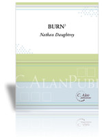 Burn3 (Trio for Flute, Clarinet, & Marimba)